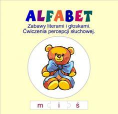 Alfabet. Zabawy literami i głoskami. Ćwiczenia percepcji słuchowej (PC) - Oprogramowanie - sklep Komputronik.pl
