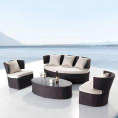 Elegant Polyrattan Lounge 4 Teilig