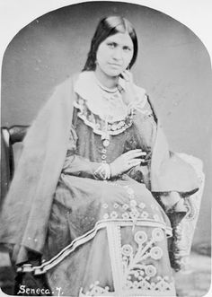 Caroline Parker-Mount Pleasant (the wife of John Mount Pleasant who was Tuscarora) -Iroquois (Seneca) - 1860 Native American Beauty, Native American Photos, Native American Tribes, Native American History, Six Nations, First Nations, Native Indian, Native Art, Seneca Indians