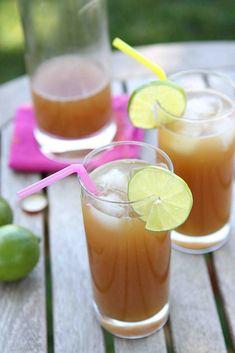 Ginger Beer-Pineapple Rum Punch