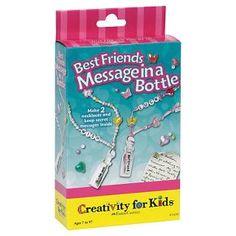 Creativity for Kids® Mini Message in a Bottle Kit