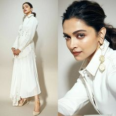 Bollywood's most talented diva Deepika Padukone is on cloud 9 these days .Her movie Chhapaak Lengha Blouse Designs, Deepika Padukone Style, Cute Actors, Charli Xcx, Modern Fashion, Style Fashion, Celebs, Celebrities, Beautiful Actresses