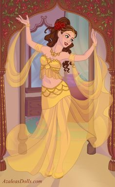 Disney Princess Fashion, Disney Princess Art, Disney Style, Pocket Princesses, Disney Princesses, Disney And More, Disney Love, Dance Paintings, Indian Art Paintings