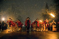Fife and drum corps--sets a patriotic mood. Billsville is my fav place--in my VA, near my school, near the waters of the Chesapeak and the ocean!!! Another plus, near my mountains........