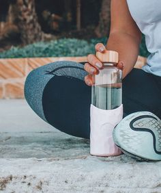 Make sure you keep hitting your hydration targets and drinking at least one Big Bottle throughout the day. All that water does wonders for your mind and body! Big Bottle, Glass Bottles, Flask, Barware, Drinking, At Least, Water, How To Make, Gripe Water