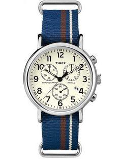 Timex Originals Mens Weekender Chronograph Watch TW2P62400