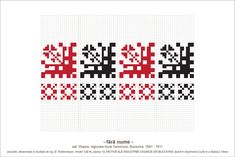 Creative Embroidery, Folk Embroidery, Hama Beads, Beading Patterns, Pixel Art, Cross Stitch Patterns, Print Design, Diy And Crafts, Stencils