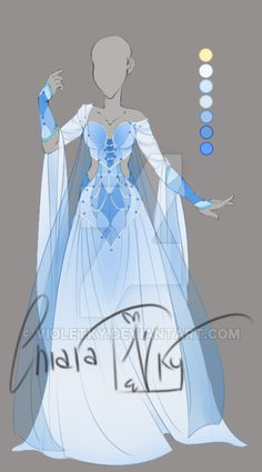 :: Adoptable Aquamarine: AUCTION CLOSED:: by VioletKy.deviantart.com on @DeviantArt