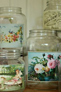 Frascos que serán utilizados como contenedores de flores para eventos. Gracias!