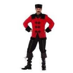 Luxe Kozak heren kostuum. Dit luxe Kozak kostuum voor heren bestaat uit een broek, jas en muts. Carnavalskleding 2015 #carnaval