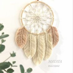 34 Ideas For Crochet Mandala Wall Hanging Embroidery Hoops Macrame Wall Hanging Patterns, Macrame Patterns, Hanging Wall Art, Embroidery Hoop Crafts, Hand Embroidery Designs, Embroidery Ideas, Dream Catcher Craft, Dream Catchers, Wind Chimes