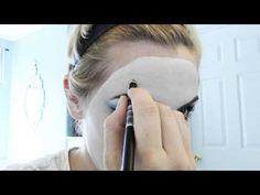 Queen of Hearts Makeup Tutorial - YouTube