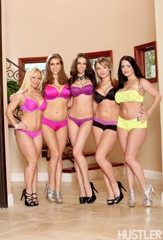 Sophie Dee, Maya Hills, Tiffany Tyler, Alex Chance and Austin Taylor