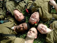 IDF soldiers: I love this picture.