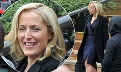 Gillian Anderson cuts a sophisticated figure for The Fall series three