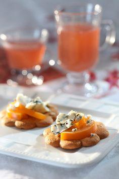Juusto-persimonpiparit | K-ruoka #joulu #piparkakut