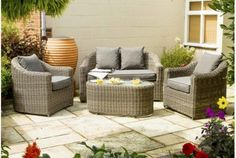 Bunbury 4 Seater Sofa Set with Cushions | Absolute Home