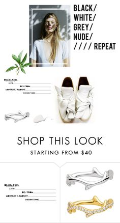 """White Sneakers"" by kelly-m-o ❤ liked on Polyvore featuring Charlie May and Ports 1961"