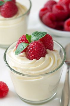 Easy white chocolate mousse made with cream cheese for an amazingly delicious treat that's perfect for Valentine's Day or any day!