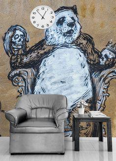 Painel fotográfico graffiti - StickDecor | Decoração Criativa