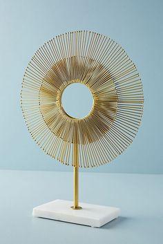 Slide View: 1: Sunburst Decorative Object
