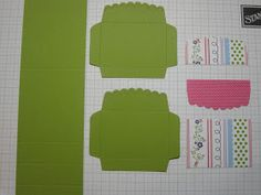 Cascade Card Tutorial  Here  is the link to the cascade card and matching box tutorial, like the one I made in this  post.   Attic Boutique...