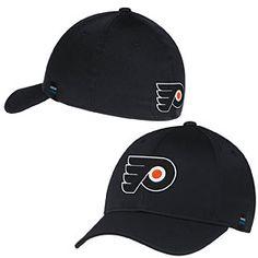 innovative design 538e4 16d20 Get this Philadelphia Flyers Black Performance Flex Fit Cap at  PhillyTeamStore.com Flyers Hat,