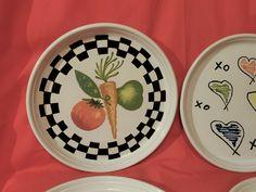 (4) Rare BENNINGTON POTTERS Mid Century Abstract Plates –DAVID GIL–Pop Art-EXC | eBay Bennington Pottery, Pop Art, Decorative Plates, Mid Century, David, Abstract, Ebay, Home Decor, Summary