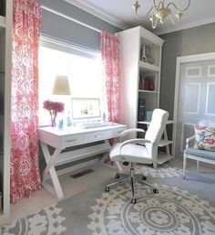 I like this look for a little girl's room.