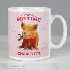 I Love You Pig Time Personalised Ceramic Racheal Hale Mug https://harringtons-gift-store.co.uk/products/i-love-you-pig-time-personalised-ceramic-racheal-hale-mug