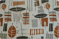 1950s pattern, I like the composition of the pattern!!!