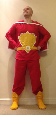 Superted!!! My personal favourite outfit I have made.