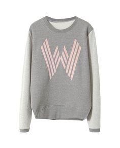 Colorblocked Long-sleeves W Sweatshirt | BlackFive