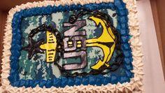 Usn retirement cake
