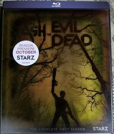 Ash vs Evil Dead: First Season 1 (Blu-ray Disc, Set) New, Free ship Season 1, Ash, Free, Ebay, Gray