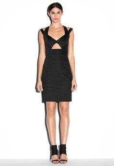 CUTOUT DRESS ($425) by Milly NY. This dress is just like... wowza. I wants it.
