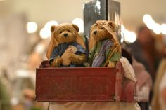 """Adorable nativity set in the """"nursery"""" area displayed at the Simi Valley, California """"Home for the Holidays"""" creche exhibit.  #nativity"""