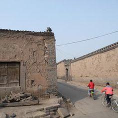 ancient walled city of pingyao, china.