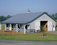 Love this Morton Stable, love the overhang over the Dutch doors