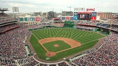 I like to go to baseball games. Watch the nationals play