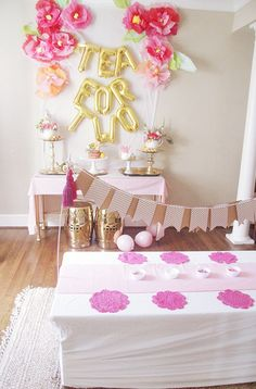 Tea for TWO   A Birthday Party! - Style Your Senses