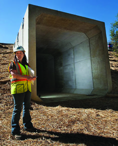 Use Box Culverts for Fast Bridge Replacement - NPCA Shipping Container Pool, Shipping Containers, Mobile Home Renovations, Alpine House, Disaster Designs, Precast Concrete, Underground Homes, Earth Homes, Home Defense