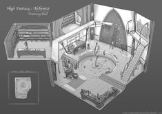 Feng Zhu Design: Old School RPG Room Designs  http://www.oldschoolparties.co.za