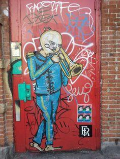 Door, Houston Street NYC