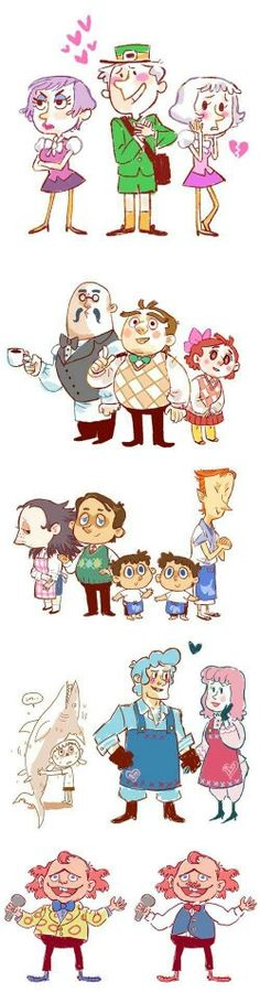 Animal crossing humans