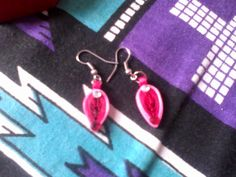 paper quilling, earrings!