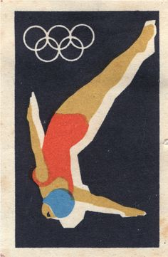 Retro Olympics, looks so much better than the London logo.