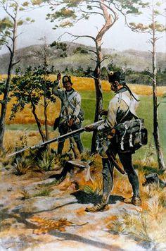 Hungarian fusiliers, 1796