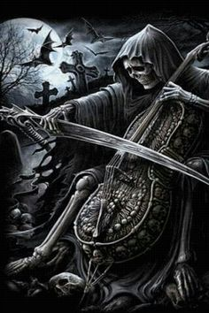 ~J  The awful song...of Death....why desend into darkness, when you can head to…