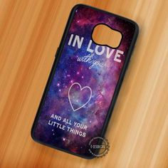 One Direction Love Quote Lyric Quote - Samsung Galaxy S7 S6 S5 Note 7 Cases & Covers